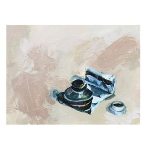 "9"" x 12"" Acrylic Painting on Canvas Panel"